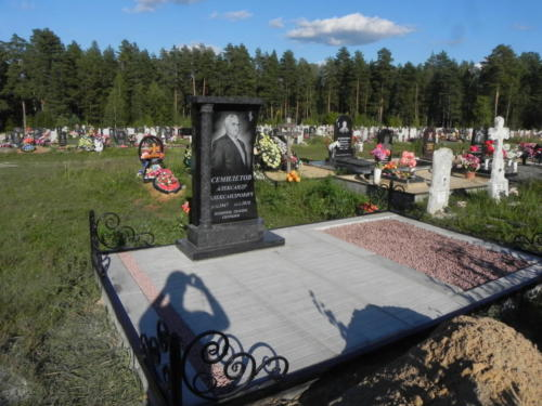 Памятник из гранита №445