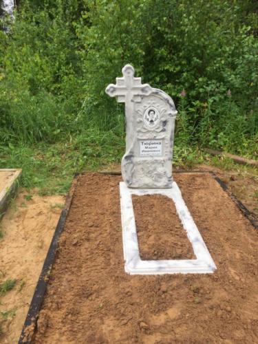 Памятник из полимербетона№85