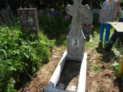 Памятник из полимербетона№67