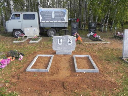 Памятник из мрамора №128