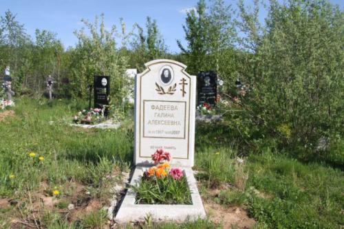 Памятник гранитная крошка №23