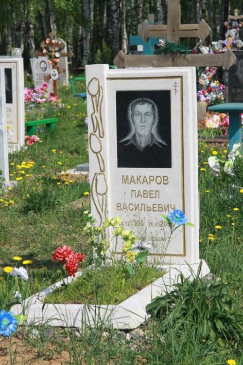 Памятник гранитная крошка №27