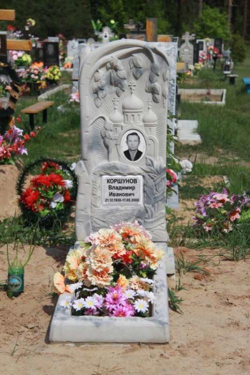 Памятник гранитная крошка №45