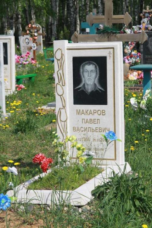 Памятник гранитная крошка №55