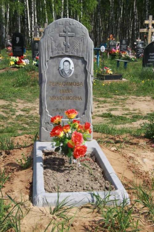 Памятник гранитная крошка №54