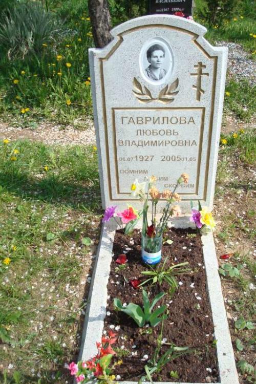 Памятник гранитная крошка №7