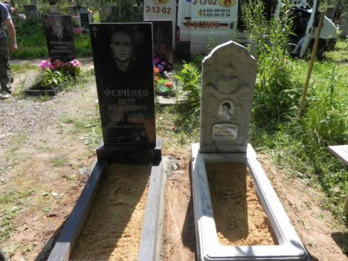 Памятник из полимербетона№23