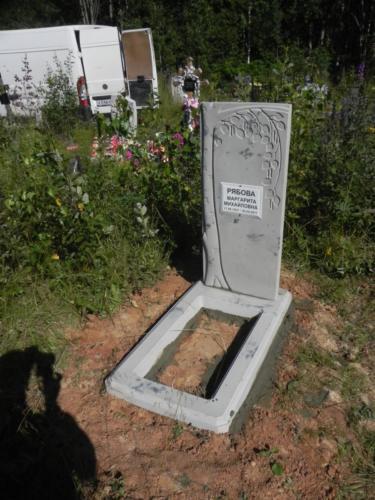 Памятник из полимербетона№36
