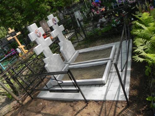 Памятник из полимербетона№16