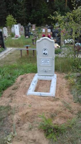 Памятник из полимербетона№40