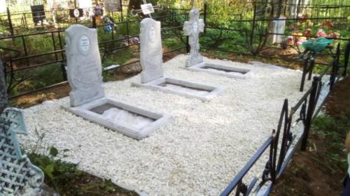 Памятник из полимербетона№43
