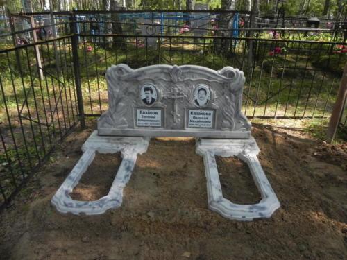 Памятник из полимербетона№50