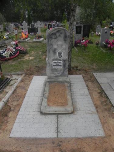 Памятник из полимербетона№45